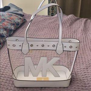 de44c5efa4f0 Women Michael Kors Clear Tote Bag on Poshmark
